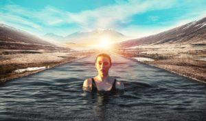 La magia del agua y la técnica que acompaña a la experiencia Maider Gorostidi